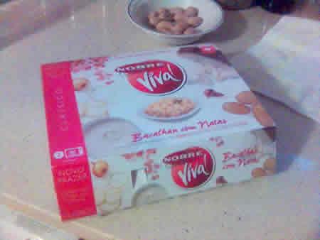 Nobre Viva! - a embalagem