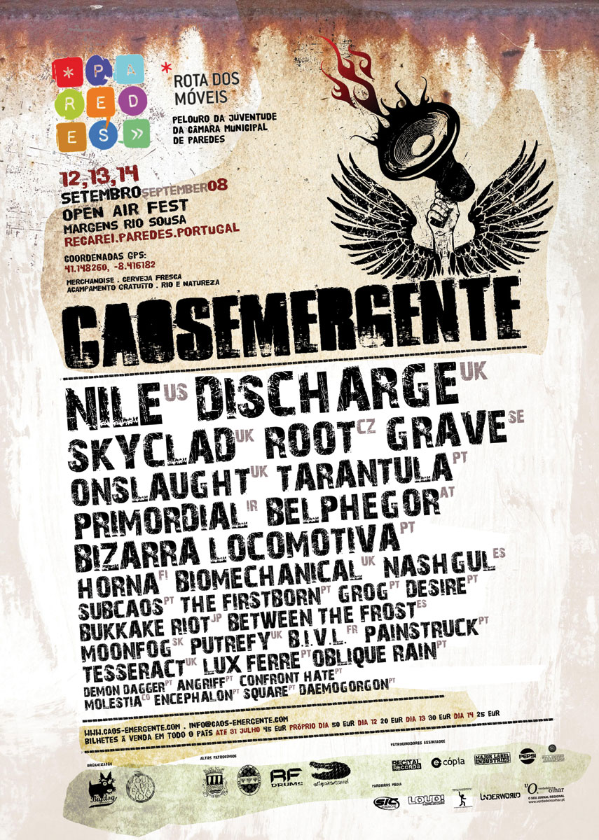 Caos Emergente: Cartaz