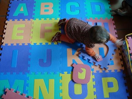 A Maria a navegar pelo alfabeto