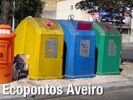 Ecopontos em Aveiro, entradas assinaladas