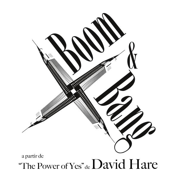 Logotipo Boom & Bang, uma criação entropiadesign