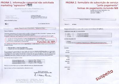 A carta da Gastão da Cunha Ferreira, Lda (clique para ampliar)